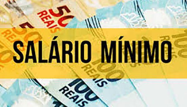 Resultado de imagem para Salário mínimo em 2020 será de R$ 1.031, sem